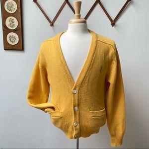 Vintage Yves Saint Laurent Lambswool Cardigan